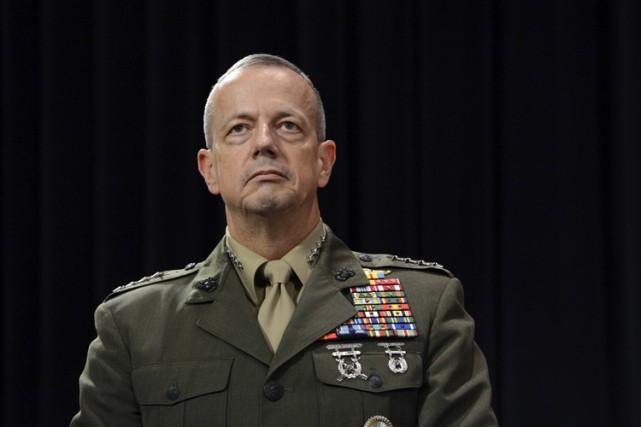Le général John Allen.... (Archives AFP)