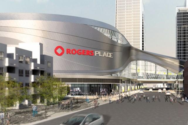 La place Rogers d'Edmonton... (Photo fournie par Edmonton Arena corp)