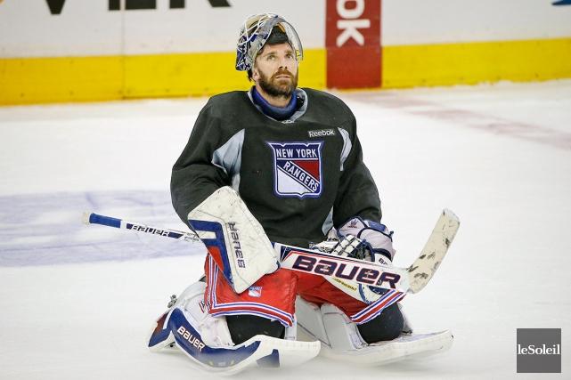 Henrik Lundqvist, des Rangers de New York, est... (Photothèque Le Soleil)
