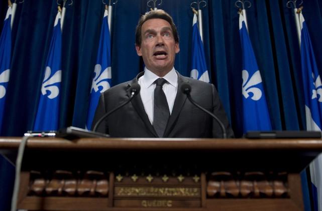 Député du Parti québécois dans Saint-Jérôme, Pierre Karl... (Photo Jacques Boissinot, La Presse Canadienne)