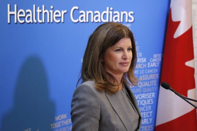 La ministre de la Santé Rona Ambrose.... (Archives PC)