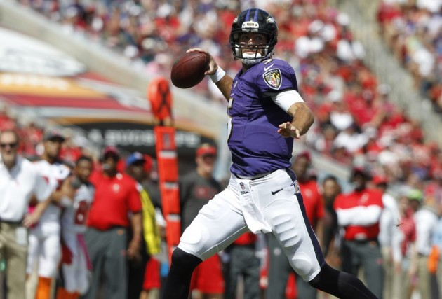 Joe Flacco... (Photo: Reuters)