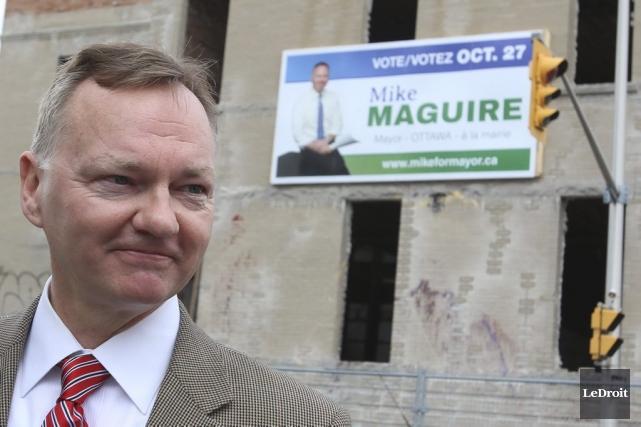 Mike Maguire a présenté son plan pour relancer... (Patrick Woodbury, LeDroit)