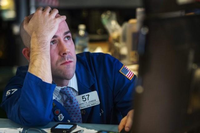 Mercredi, les marchés ont fortement reculé, et jeudi... (PHOTO LUCAS JACKSON, REUTERS)