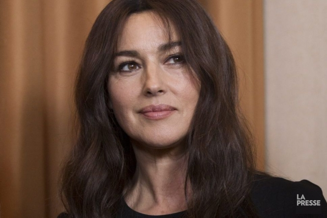 Monica Bellucci... (Photo: Olivier Jean, La Presse)
