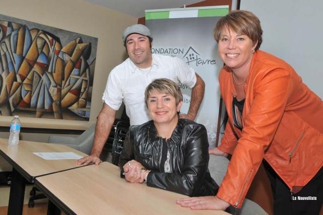 La fondation du Centre Le Havre lançait ses... (Photo: Émilie O'Connor, Le Nouvelliste)