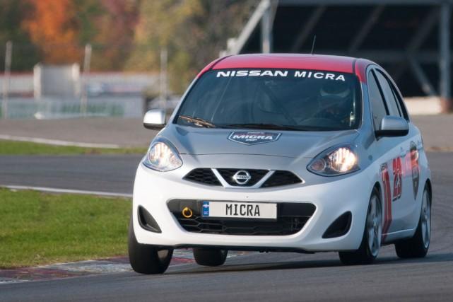 Les pilotes pourront se procurer une Nissan Micra... (Photo: Courtoisie)