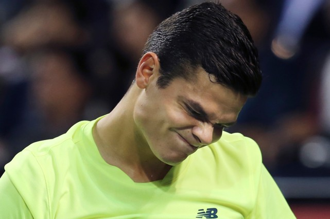 Milos Raonic... (Photo Koji Sasahara, archives AP)