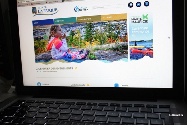 Pour visiter le nouveau site Web de Tourisme... (Photo: Audrey Tremblay, Le Nouvelliste)