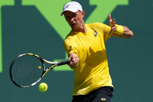 Nikolay Davydenko... (Photo Geoff Burke, USA Today Sports)