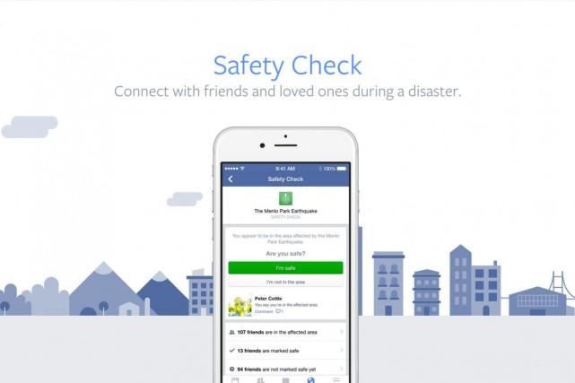 Le réseau social en ligne Facebook a dévoilé jeudi son nouvel baptisé «Safety...