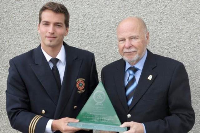 Le capitaine à la prévention Alexandre Bilodeau a... (Photo: Courtoisie)