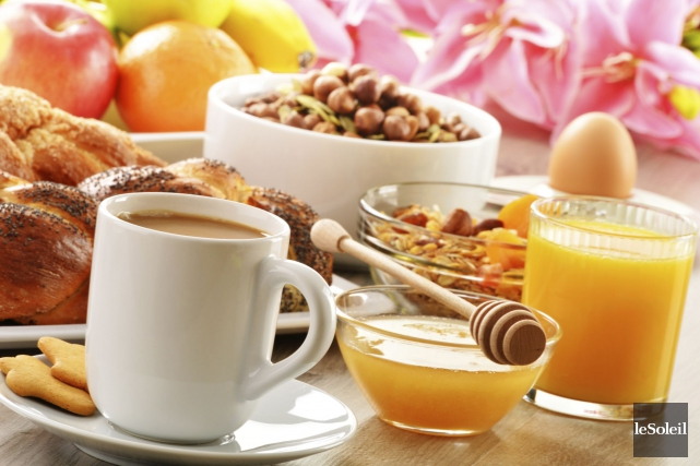Le petit-déjeuner fournit ce sentiment de récompense et... (Photo Thinkstock)