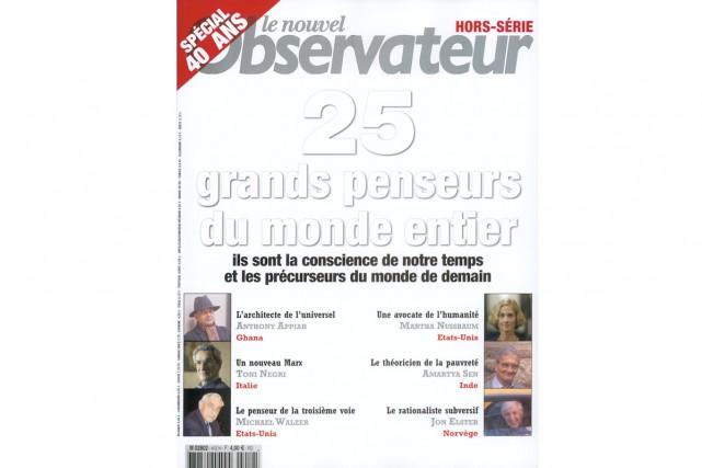 Le Nouvel Observateur, premier news magazine français, va se...