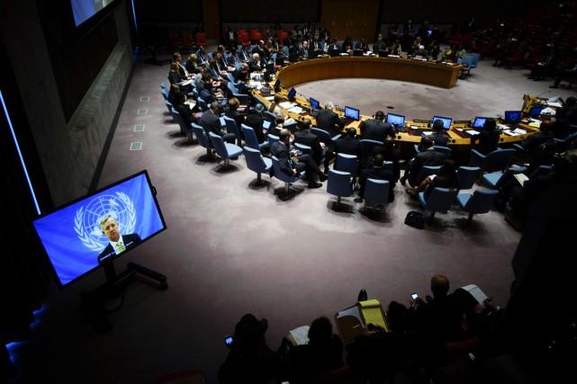 Le Conseil, qui compte 15 membres, dont cinq... (PHOTO EDUARDO MUNOZ, ARCHIVES REUTERS)