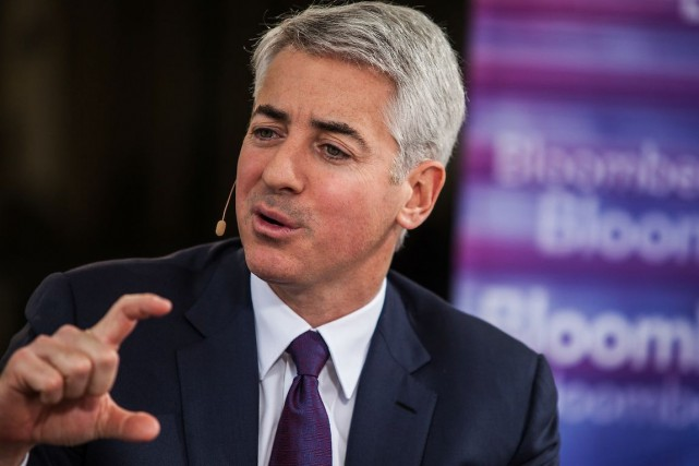 Bill Ackman... (Photo Chris Goodney, archives Bloomberg)