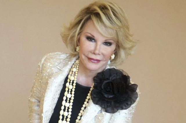 Joan Rivers en 2009.... (Photo: archives AP)