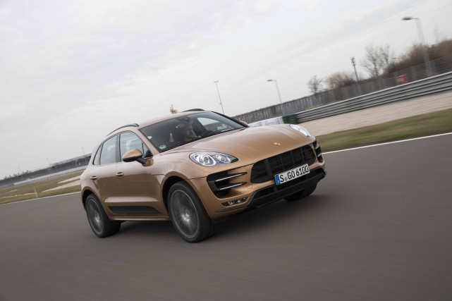 Porsche Macan Turbo... (Photo fournie par Daniel Wollestein)