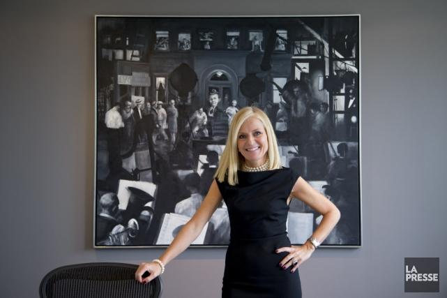 Isabelle Hudon, présidente de la Financière Sun Life... (PHOTO ALAIN ROBERGE, LA PRESSE)