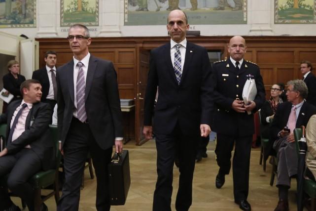 Le ministre de la Sécurité publique et de... (Photo CHRIS WATTIE, Archives Reuters)