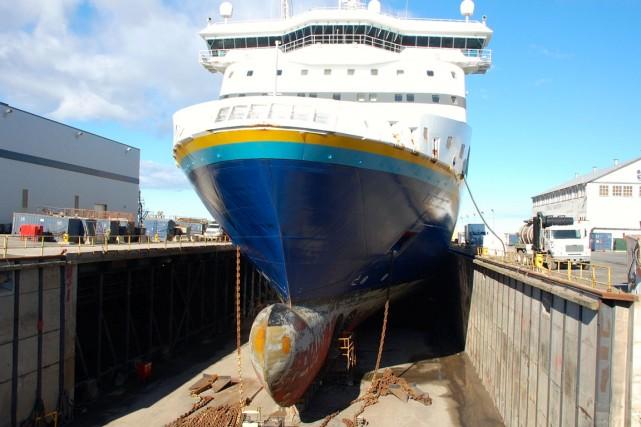 Le temps presse pour le Groupe maritime Verreault... (Collaboration spéciale Johanne Fournier)