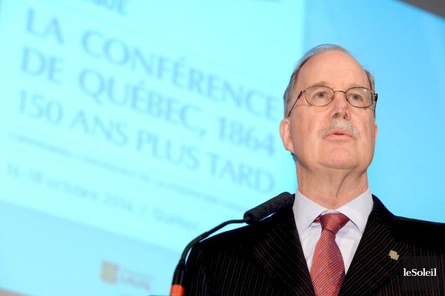 Le commissaire aux langues officielles du Canada, Graham... (Le Soleil, Erick Labbé)