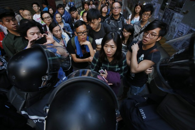 Le fonctionnement de Hong Kong, un des centres... (Photo Wally Santana, AP)