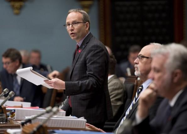 Martin Coiteux... (La Presse Canadienne, Jacques Boissinot)