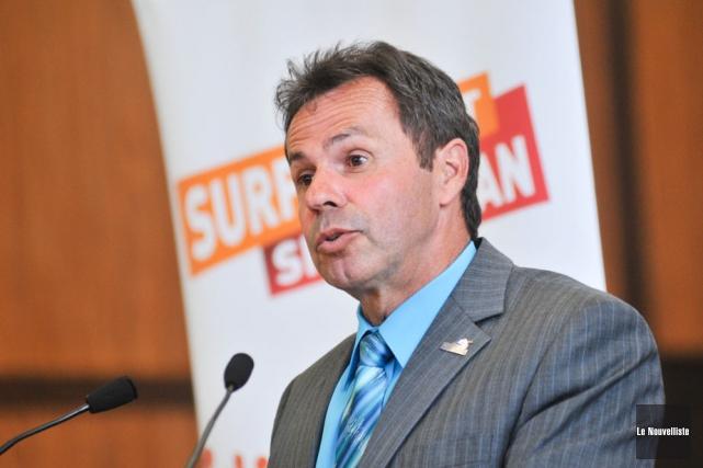 Michel Angers, le maire de Shawinigan.... (Photo: Émilie O'Connor, Le Nouvelliste)