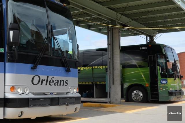 Orléans Express abandonne le trajet entre La Tuque... (PHOTO SYLVAIN MAYER, ARCHIVES LE NOUVELLISTE)