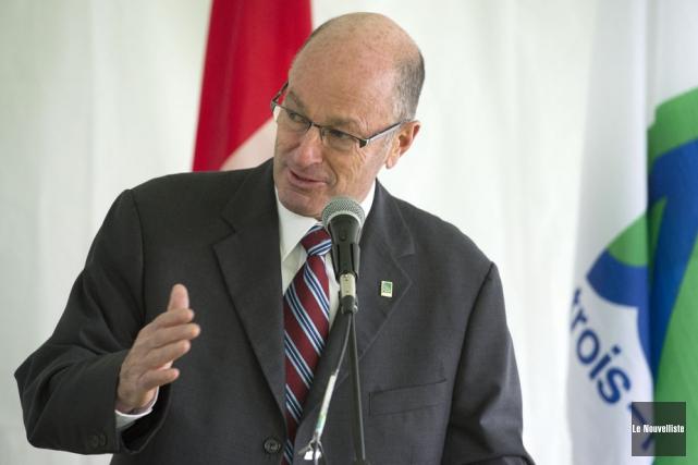 Le maire de Trois-Rivières, Yves Lévesque.... (Photo: Stéphane Lessard, Le Nouvelliste)