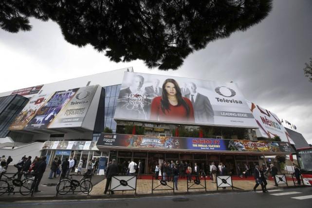 Le MIPCOM a réuni quelque 13 000 professionnels... (Photo: AFP)