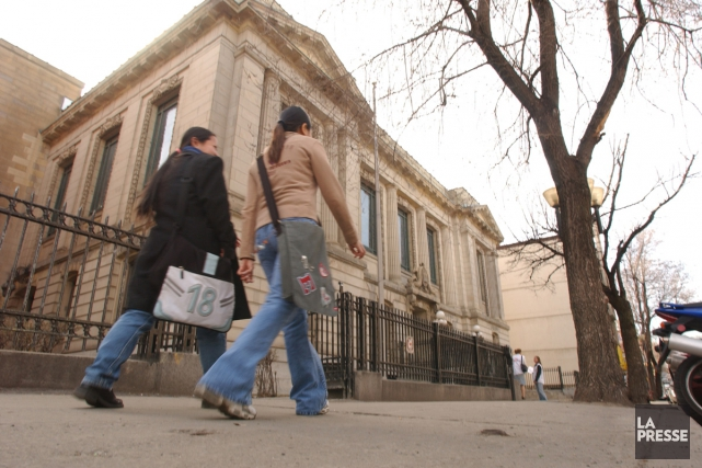 La bibliothèque Saint-Sulpice.... (Photo: Martin Chamberland, archives La Presse)