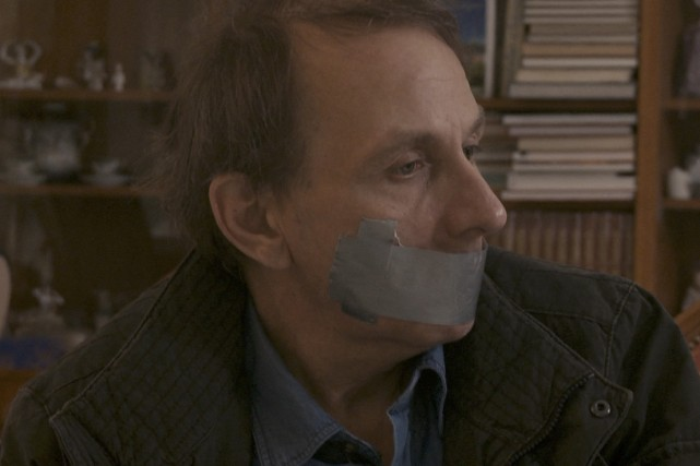 L'enlèvement de Michel Houellebecq... (Photo: fournie par le FNC)