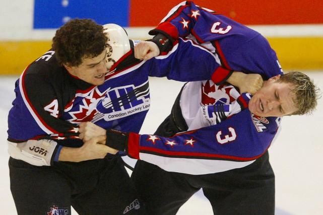 Au Canada, les joueurs juniors québécois sont ceux... (Photo archives PC)