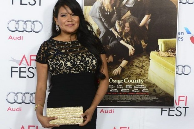 Misty Upham à la projection du film August:... (Photo: archives AFP)