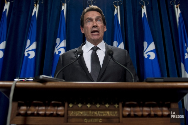 Pierre Karl Péladeau... (La Presse Canadienne, Jacques Boissinot)