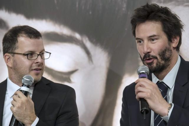 Le réalisateur Christopher Kenneally et l'acteur et producteur... (Photo: AFP)