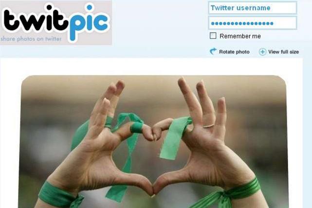 Twitpicpermettait de diffuser photos et vidéos sur Twitter.... (Photo Archives AFP)