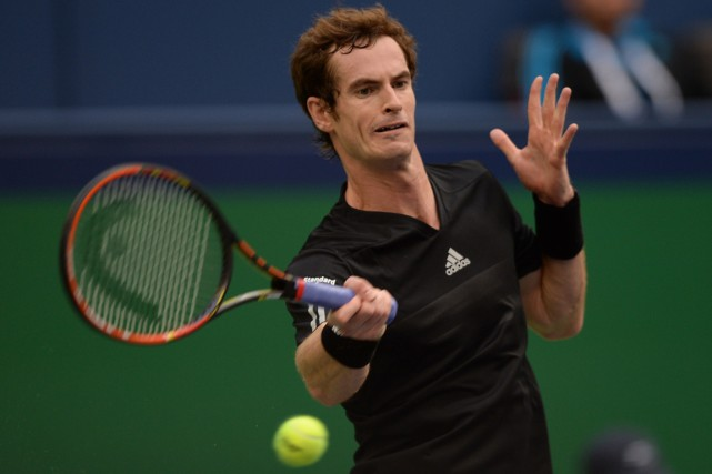 Andy Murray... (Photo Johannes Eisele, archives AFP)