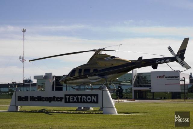 Actuellement, Bell Helicopter construit tous ses hélicoptères commerciaux... (PHOTO OLIVIER JEAN, ARCHIVES LA PRESSE)