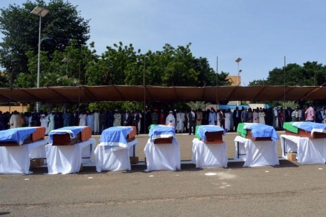 Le Conseil de sécurité de l'ONUréclament le respect... (Photo BOUREIMA HAMA, AFP)