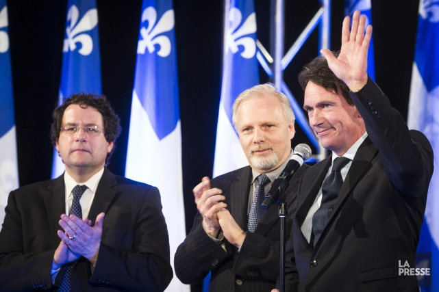 Au soir du scrutin du 7 avril, quelques... (Photo Olivier PontBriand, archives La Presse)
