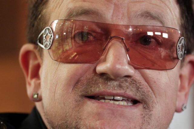 Bono a déclaré à la BBC qu'il souffre... (PHOTO CATHAL MCNAUGHTON, REUTERS)