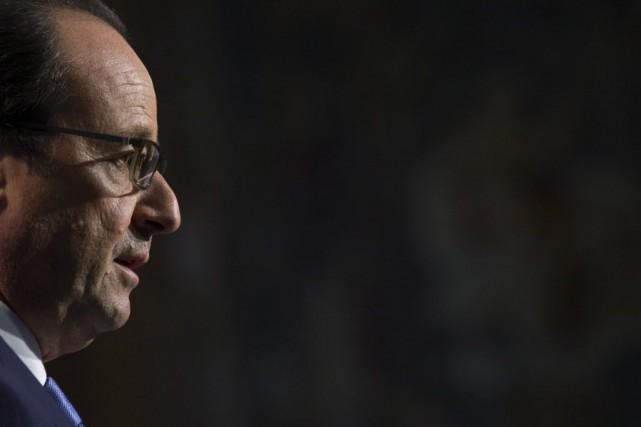 Le président François Hollande doit effectuer une visite... (PHOTO PHILIPPE WOJAZER, REUTERS)