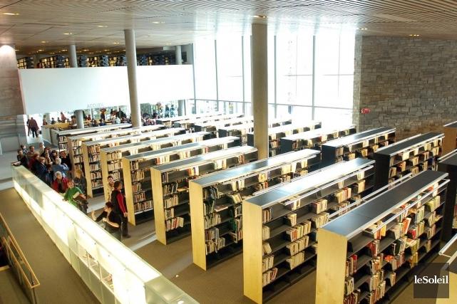 Chacune des bibliothèques sera dorénavant accessible le samedi... (Photothèque Le Soleil, Erick Labbé)