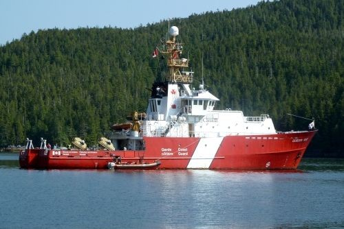 Le Gordon Reid de la Garde côtière canadienne... (Photo fournie par la Garde côtière canadienne)