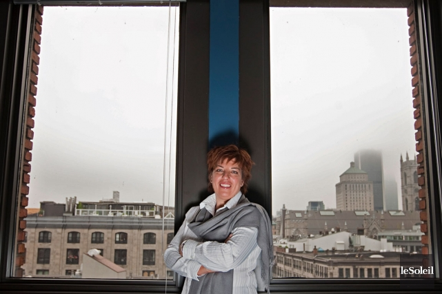 Nicole Martel, pdg de l'Association québécoise des technologies,... (Photothèque Le Soleil)