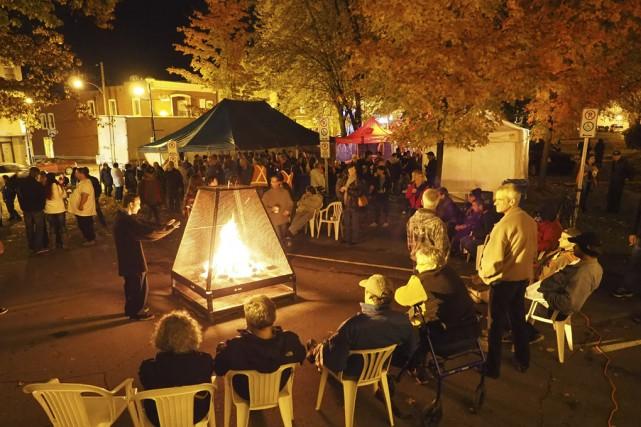 La Nuit des sans-abri a connu un grand... (photo Maxime Sauvage)