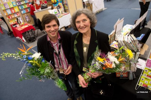 Étienne Beaulieu et Yvette Francoli sont les récipiendaires... (IMACOM, René Marquis)